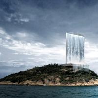 Zöldolimpia Rio-ban: 100 méteres vízesés-torony termeli az energiát 2016-ban