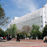Mexikóvárosban futurisztikus kórházépület szűri a szennyezett városi levegőt