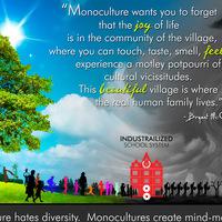 Monokultúra, szürkeség, a tudat monopóliuma...