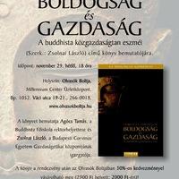 Könyvbemutató: Buddhista közgazdaságtan