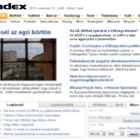 Címlapon hazudik az Index - Vidék = LMP?