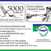 5000 forintos Nemzeti Park érmével várjuk az EU elnökséget