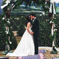 Karácsonyi esküvő stílusosan, green wedding módra