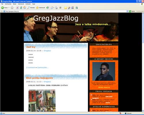 GregJazzBlog 2008.02.14.