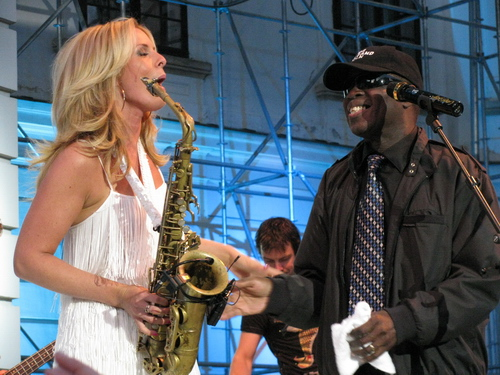 Candy Dulfer & Maceo Parker 1
