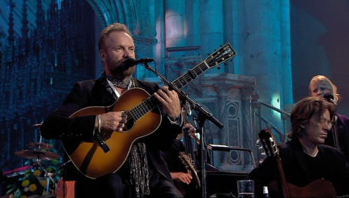 Sting in Durham Cathedral Live 2