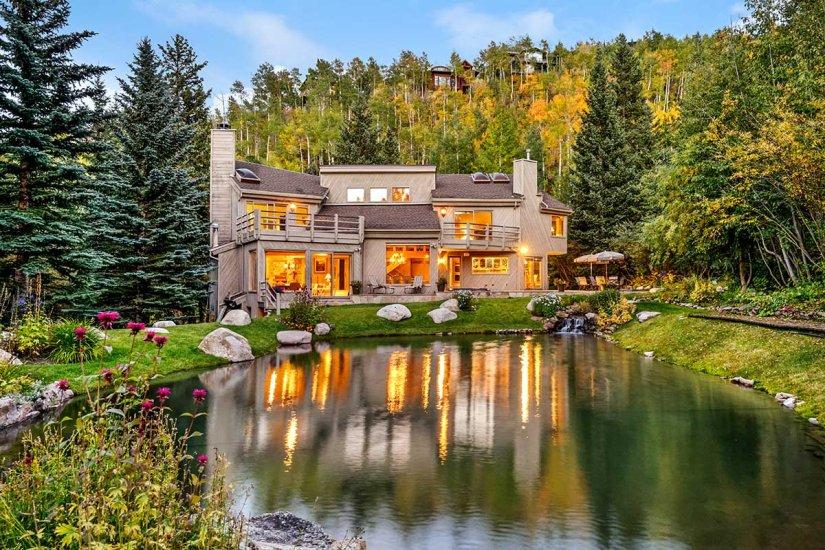 Mesés tóparti luxusvilla Coloradoban