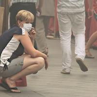 Döbbenetes képek a moszkvai szmogról