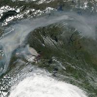 NASA felvételek a nyár legnagyobb erdőtüzeiről