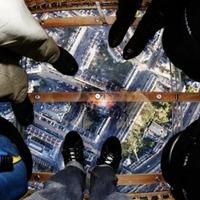 Tériszony-teszt: üveg padlójú hőlégballon – videó