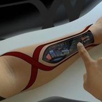 Interfészként működő tetoválás