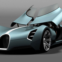 Bugatti Aerolithe: elektromos sportautó 2025-re