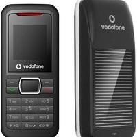 Vodafone napelemes mobilok Indiában