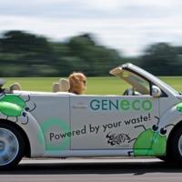 Szennyvízgázhajtású autó