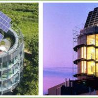 A forgó napelemek a felhasznált energia ötszörösét termelik