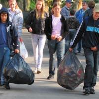 20 000 italos kartondobozt gyűjtöttek az állatkerti látogatók