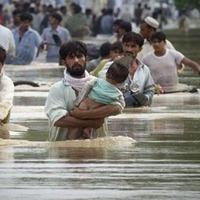 A pakisztáni árvíz, ahogy eddig nem láttuk