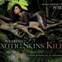Újabb meztelen környezetvédő híresség: Jenna Dewan Tatum
