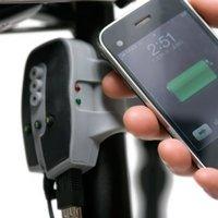 Kerékpáros mobiltöltő