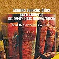 \EXCLUSIVE\ Algunos Consejos útiles Para Elaborar Las Referencias Bibliográficas (Spanish Edition). brinda Meaning tiene games downtown Contact picked