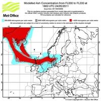 Száz repülőjáratot már töröltek a vulkáni hamu miatt