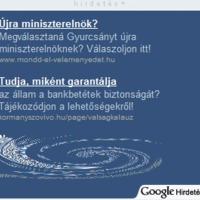 Kormány a Google-n