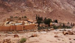 Szent Katalin monostor, Sínai-hegy