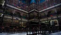 Real Gabinete Português de Leitura in Rio de Janeiro