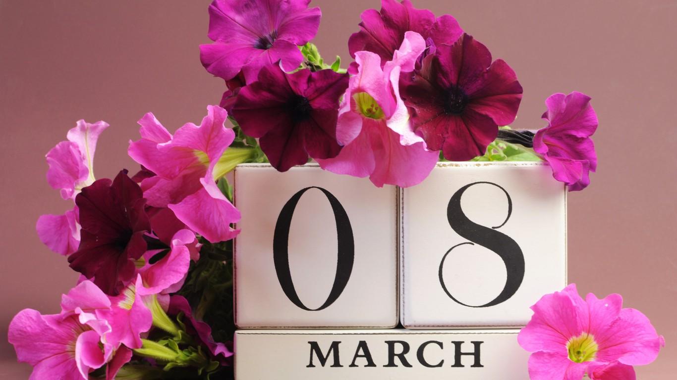 56eb7681f9 Mindenki számára ismerős dátum a március 8., ezen a napon ugyanis sok  országban a főszerep a hölgyeké, lányoké, édesanyáké és nagymamáké. A  Nemzetközi Nőnap ...