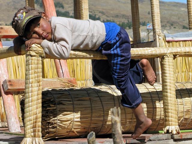 Nád a házam teteje – Gyerekek a Titicaca-tónál