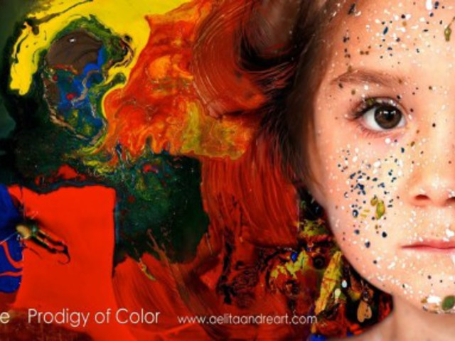 A színek ausztrál csodagyereke: Aelita Andre