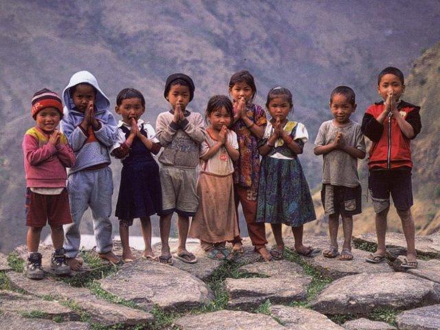 Gyereknap a Himalájában