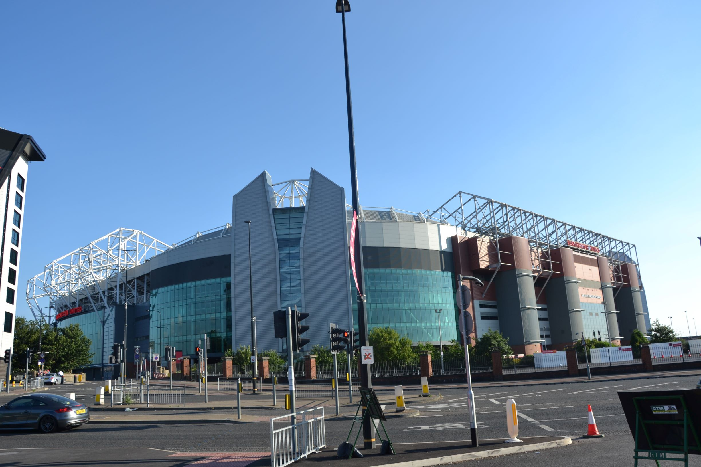 A Manchester United Stadion