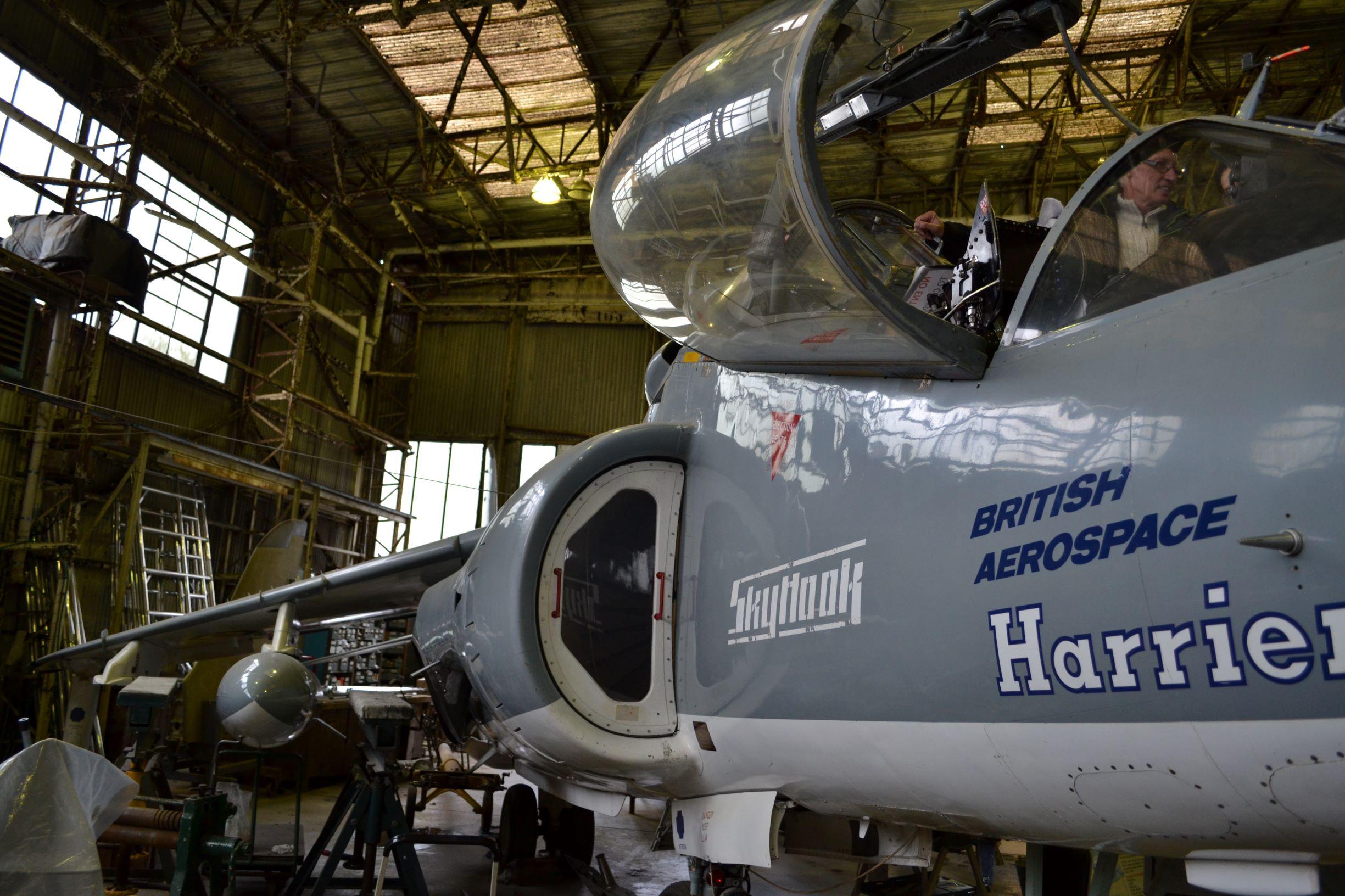 Ültél már Harrierben?