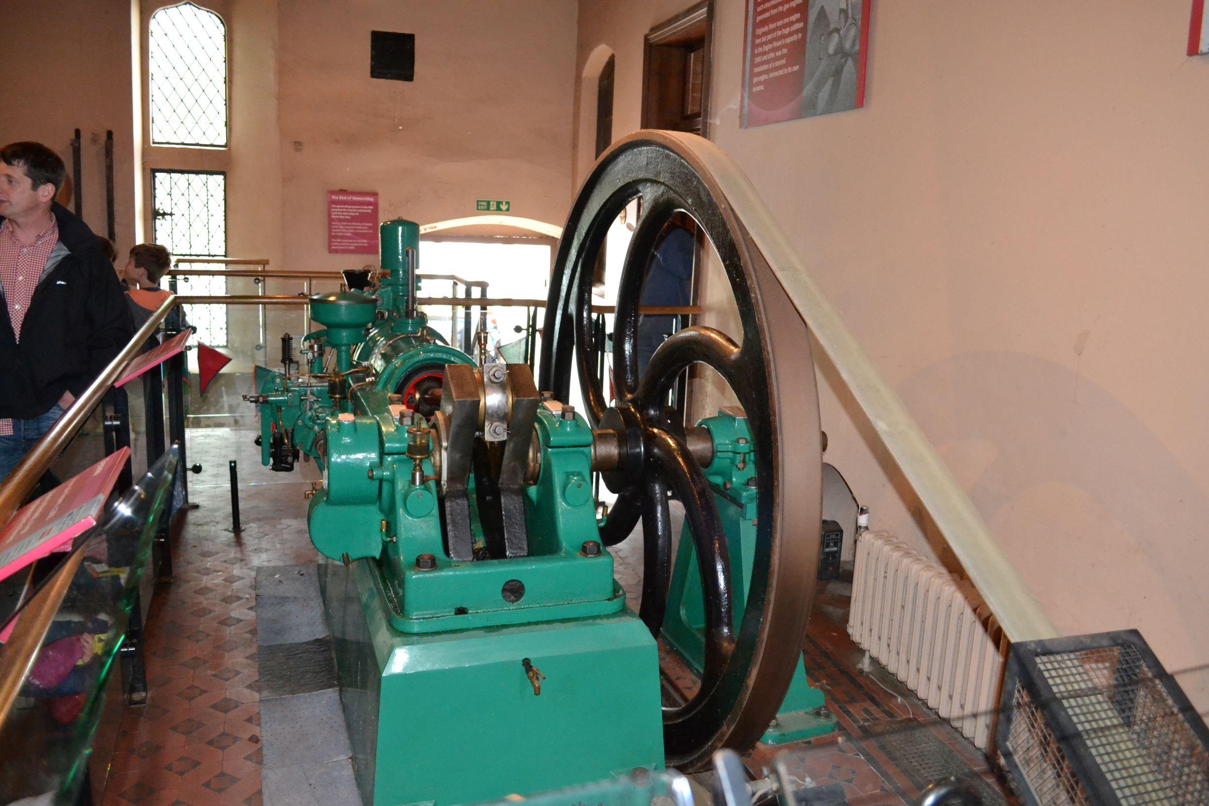 A vízi malmot gépesítették és áramot is termeltek vele