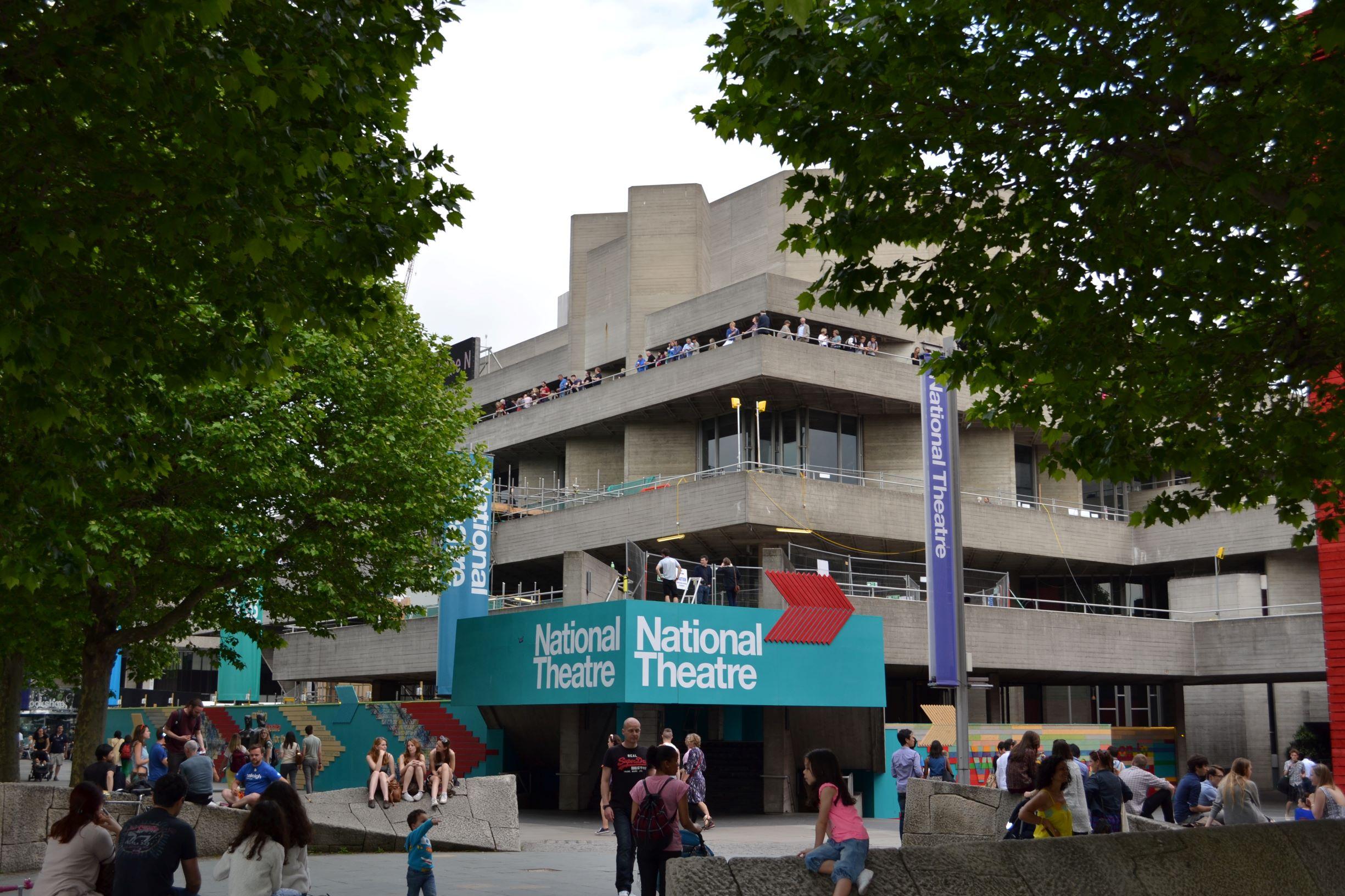 A Nemzeti Színház betontömbje