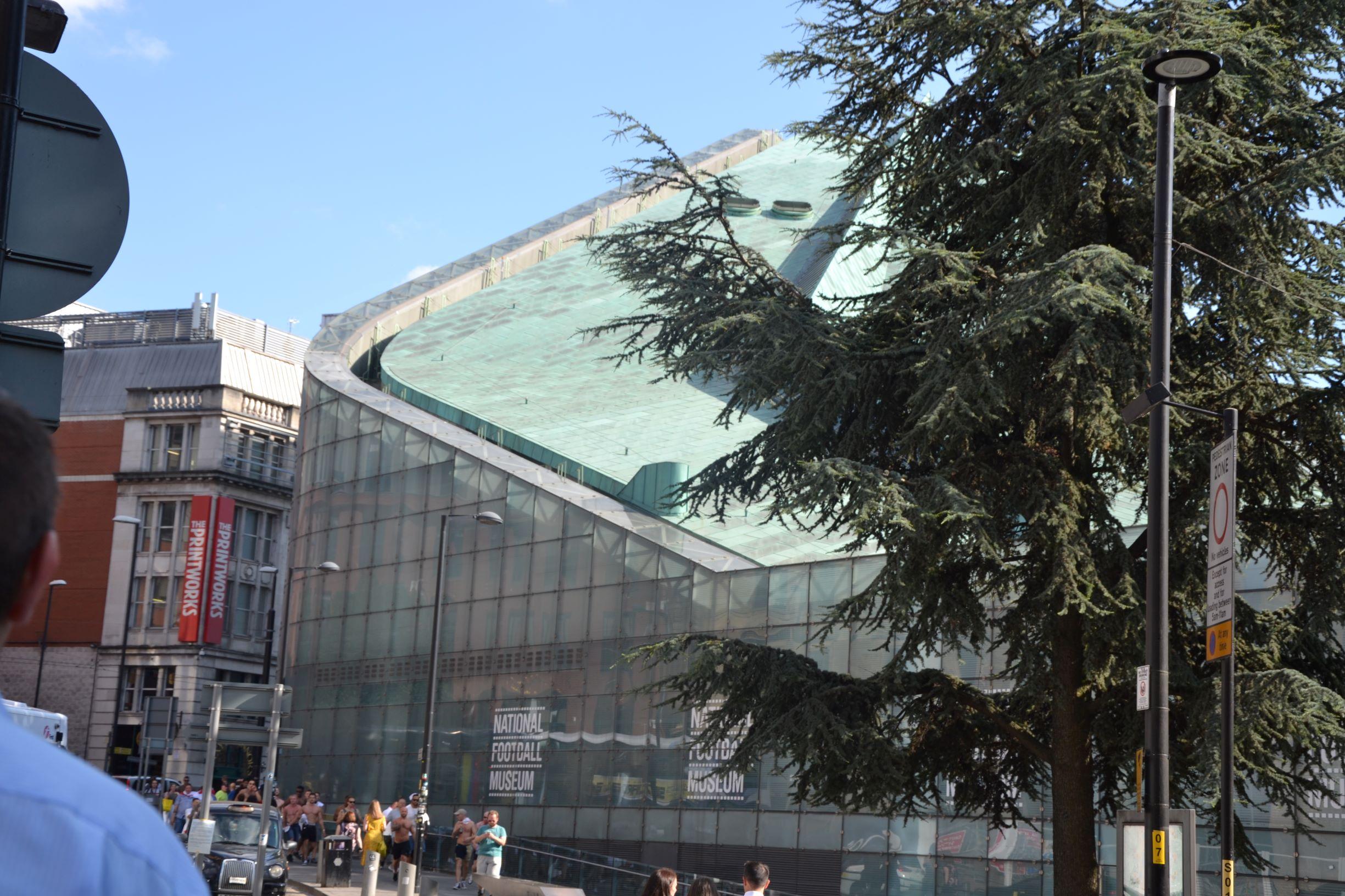 A Nemzeti Futballmúzeum épülete