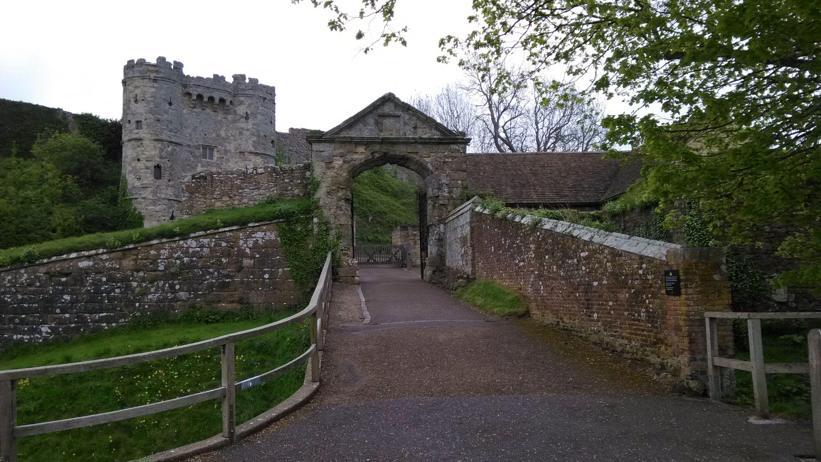 Carisbrooke bejárata