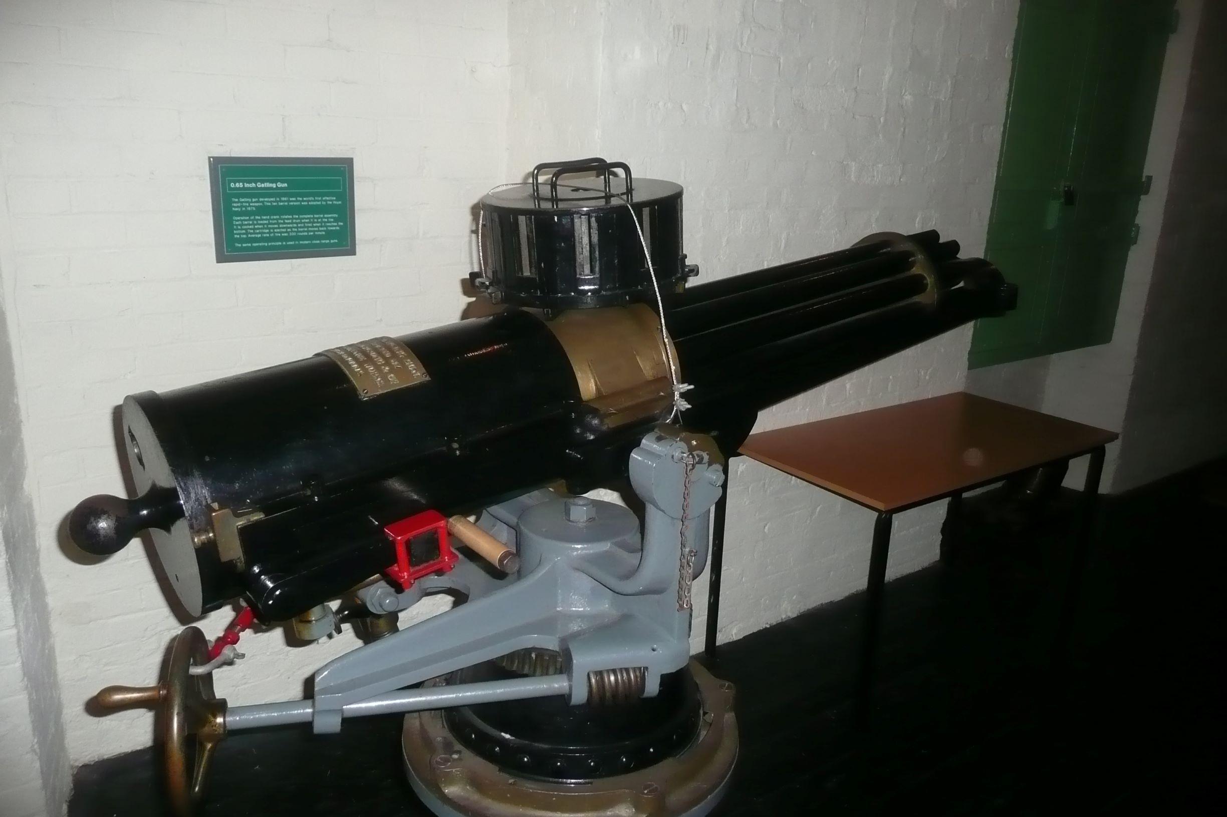 1875-ös Gatling forgócsöves gépágyú