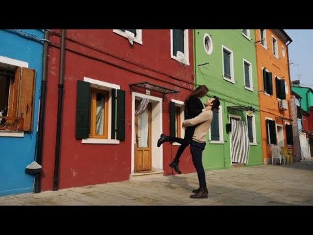 Velence - BURANO színpompás házai