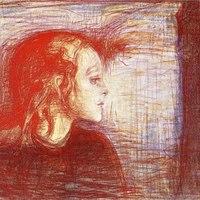 Szorongás és gyermekkor Munch vásznain
