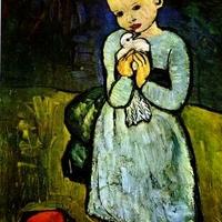 Gyermekábrázolások Pablo Picasso kék és rózsaszín korszakában