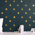 Holdfázisok a falon