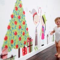 Etsy.com - Karácsonyi falmatrica