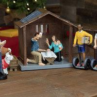 Betlehemes szett hipszter szülőknek