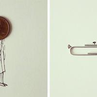 1 tárgy + 1 rajz = 1 művészi alkotás