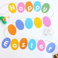 Egyszerű húsvéti dekor