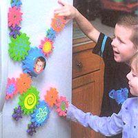 Hűtőmágnes és játék