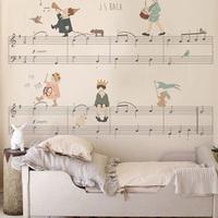 Stílusos gyerekszoba - Falfestés zenerajongóknak