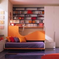 Stílusos gyerekszoba - Eltüntethető ágy